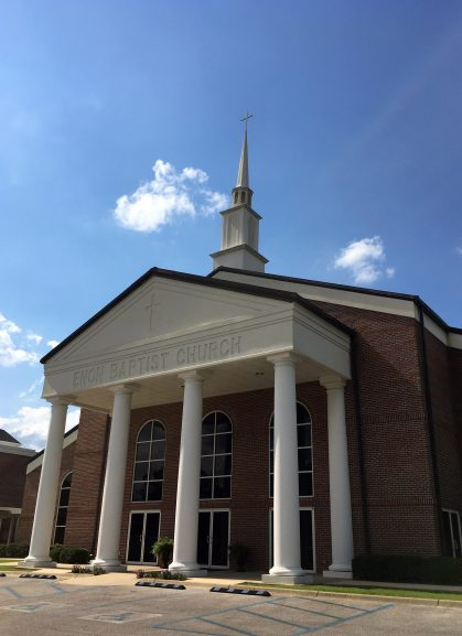 Enon Baptist Church in Morris. (Alabama NewsCenter)