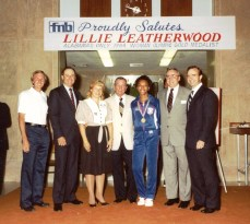 "Leatherwood, called a ""team player,"" is celebrated for her accomplishments. (file)"