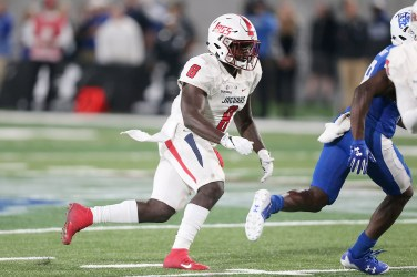 Linebacker Bull Barge is a standout on this year's South Alabama defense. (Scott Donaldson)