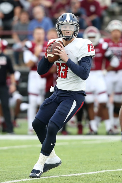 The Jags have some depth at quarterback this year, with Cole Garvin, pictured, and Cephus Johnson. (Scott Donaldson)