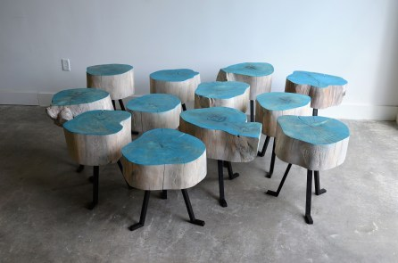 Alabama Sawyer takes urban timber and turns it into furniture and other products. (Michael Tomberlin / Alabama NewsCenter)