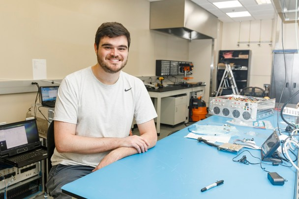 Talladega native Joshua Nunn earned his bachelor's degree in electrical engineering from UA and stayed on for graduate school. (University of Alabama)