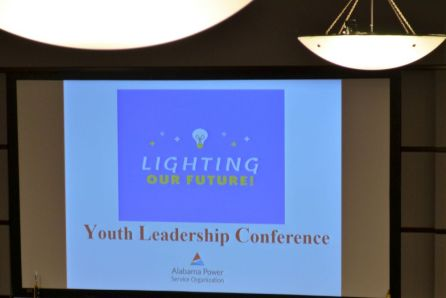 The annual conference hosted more than 100 high schoolers. (Michael Tomberlin / Alabama NewsCenter)