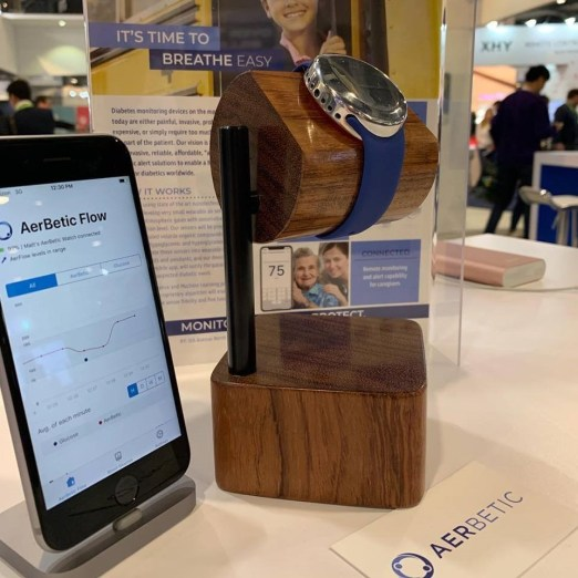 AerBetic's diabetes management device claimed major awards at CES 2019, the world's largest technology event. (AerBetic)