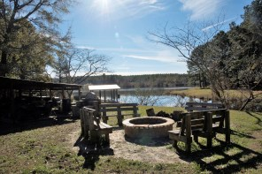 The grounds at Master Rack Lodge. (Brittany Faush/Alabama NewsCenter)