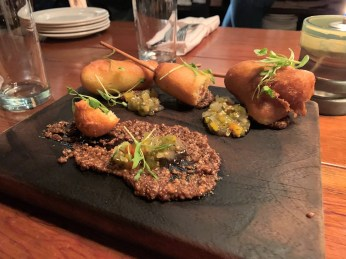 The food at Central in Montgomery is inventive but approachable. (Brittany Faush/Alabama NewsCenter)