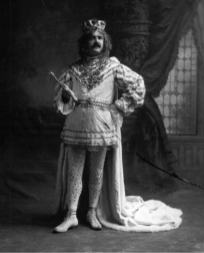 Orville Cawthon, King Felix of Mobile Mardi Gras, 1905. (University of South Alabama, McCall Library, Erik Overbey Collection, Wikipedia)