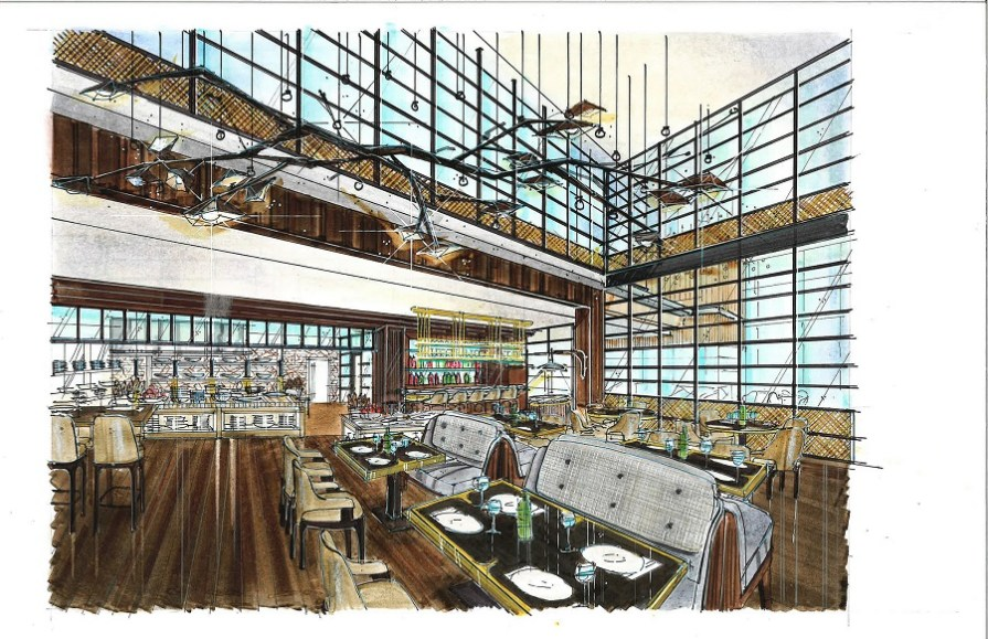 """A teaching restaurant inside the Tony & Libba Rane Culinary Science Center, 1856, will feature a """"Chef in Residence"""" program. The restaurant will be open to the public. (Auburn University)"""