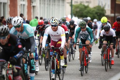 Amateurs can test their skills with professional cyclers. (Birmingham Hammerfest)
