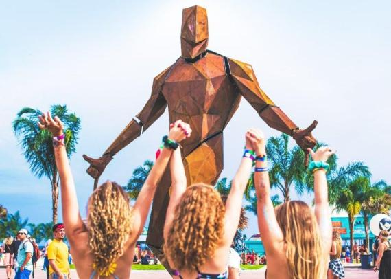 The Hangout Music Fest has a $45 million economic impact on Alabama's Gulf Coast and draws visitors from all 50 states and 19 countries. (Hangout Fest)