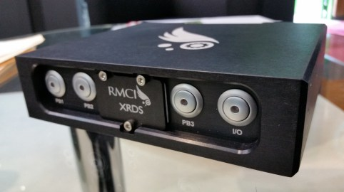 RMCI produces devices that act as an early warning system for trouble in a helicopter engine. (RMCI)
