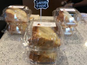 Pound cakes are another customer favorite at JaWanda's Sweet Potato Pies. (Keisa Sharpe)