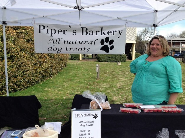 Piper's Barkery sells pupcakes, chicken jerky, biscuits and sweet potato chips. (Contributed)