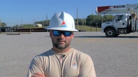 Scott Shultz is dedicated to his job as an Alabama Power lineman and to his co-workers. (Joe Allen/Alabama NewsCenter)