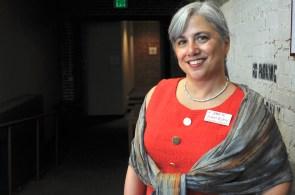 Isabel Rubio of the Hispanic Interest Coalition of Alabama. (Karim Shamsi-Basha/Alabama NewsCenter)