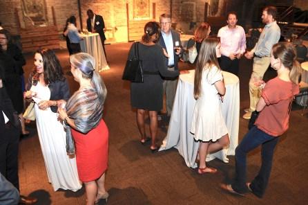 HICA board members and supporters gather to celebrate the organization's 20 year anniversary. (Karim Shamsi-Basha/Alabama NewsCenter)