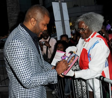 """Tyler Perry's Mabel """"Madea"""" Simmons will perform with Tamela Mann, David Mann and Cassi Davis Patton in Madea's Farewell Play Tour May 22 at 7 p.m. (Kevin Winter/Getty Images)"""