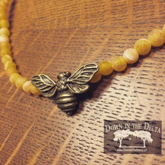 Judy Pimperl applies a lot of imagination and personality to her creations for Down in the Delta Jewelry. (contributed)