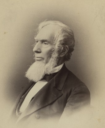 Portrait of Landon C. Garland, father of Jane Meredith Garland. (Vanderbilt University Special Collections, Wikipedia)