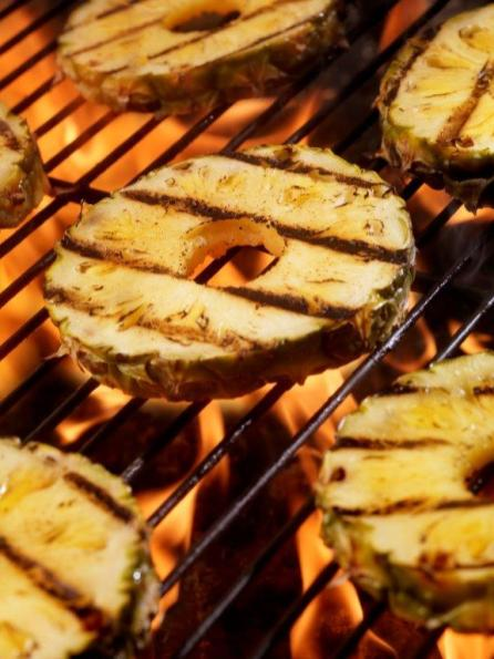 Grill marks on pineapple are rarely worth the hassle. (Getty Images)