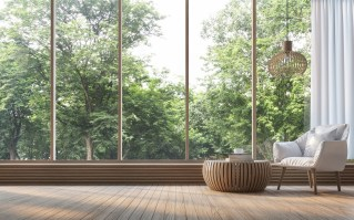 Relying on natural lighting in the mornings and afternoons is an energy saver. (Getty Images)