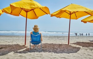 Embrace the shade. Proper protection from the sun reduces the risk of skin cancer and sunburn. (Getty Images)