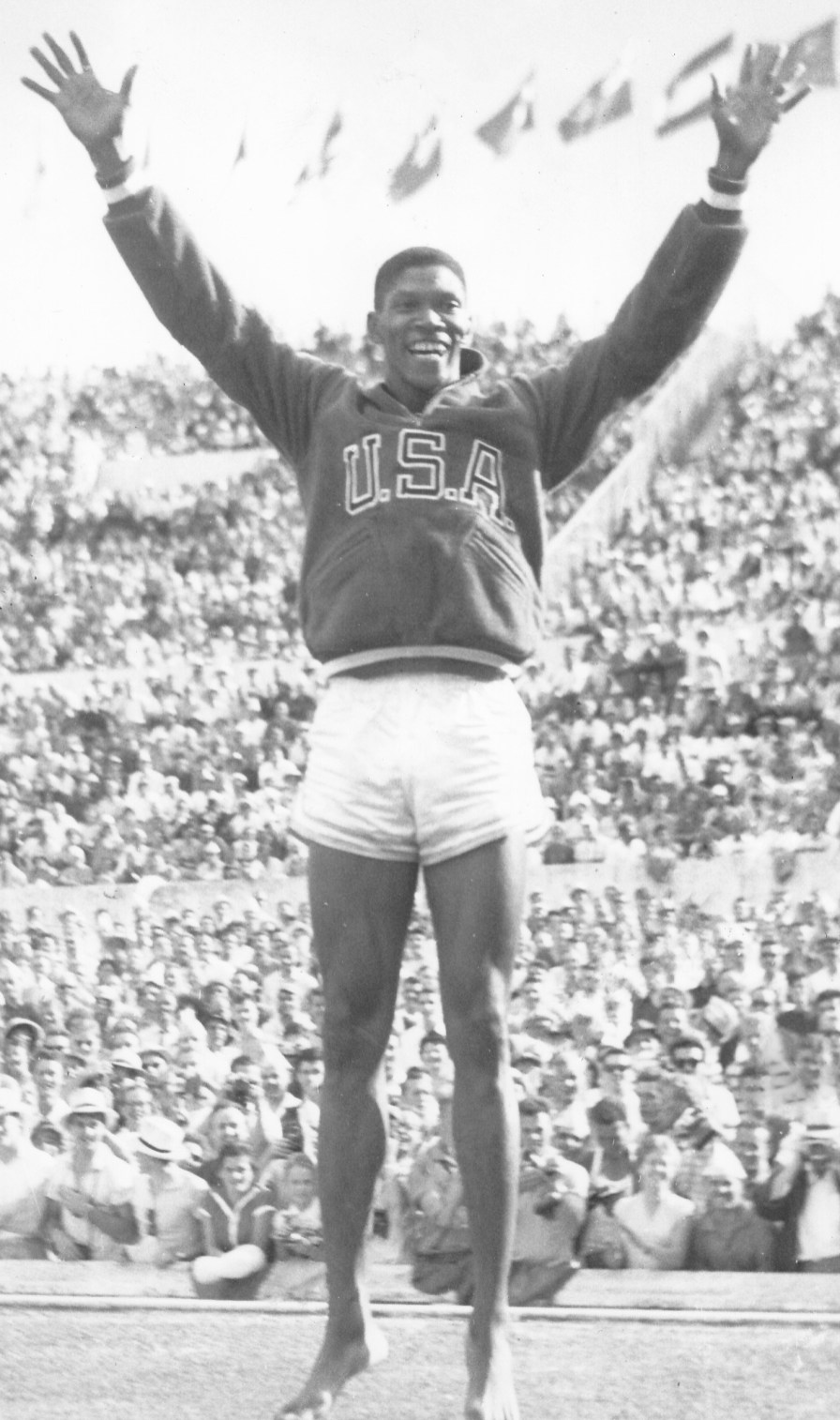 Otis Davis during the 1960 Olympic games. (Tuntematon, Wikipedia)