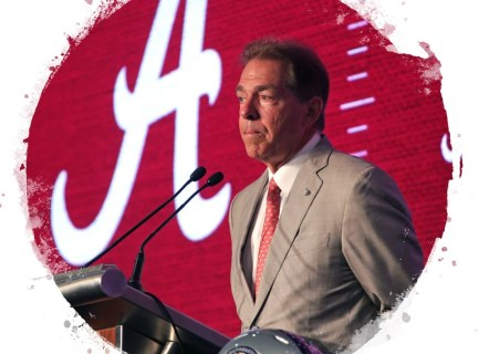 Alabama coach Nick Saban. (Alabama NewsCenter file)