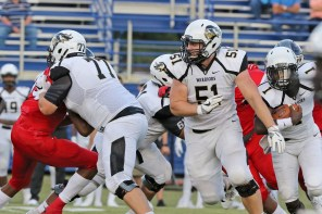 Offensive lineman Ethan McMullan (51) is a promising transfer from East Central Community College. (East Central Community College)