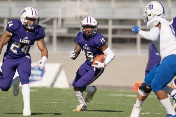 Wide receiver Jakobi Byrd is a player to watch this season. (University of North Alabama Athletics)