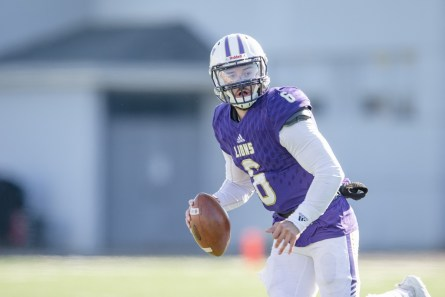 University of North Alabama quarterback Christian Lopez. (University of North Alabama Athletics)