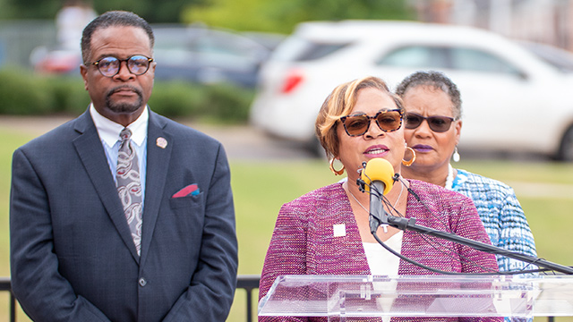 Bobbie Knight welcomed as interim president of Miles College