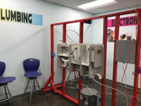 A new skills training facility at the Tuscaloosa County Juvenile Detention Center will provide residents with new skills for when they are released. (Michael Tomberlin / Alabama NewsCenter)