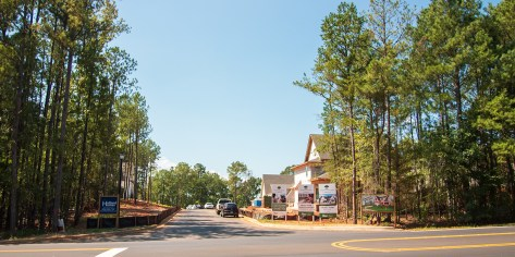 Construction continues on new homes in the Northwoods community, home of the newest Smart Neighborhood in Auburn. (Dennis Washington / Alabama NewsCenter)