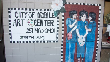 The city of Mobile's Art Center at Lavretta Park. (Dennis Washington / Alabama NewsCenter)