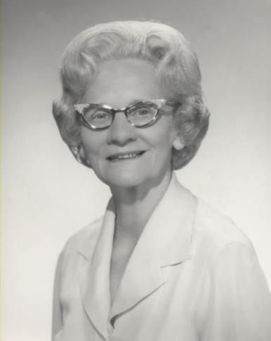 Portrait of Lena Brock Speer. (Randall Franklin Hubbard, Findagrave.com)