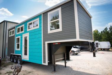 Alabama Tiny Homes is finding a big business in people's desire to live small. (Phil Free / Alabama NewsCenter)