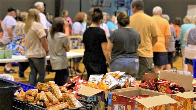 Blessings in a Bag ensures schoolchildren have food for weekend