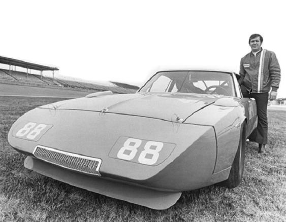 """Gentle Giant"" Buddy Baker set a closed-course speed record at Talladega in 1970 and went on to win three straight races at the track in 1975-76. (Talladega Superspeedway)"