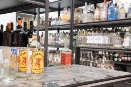 Crave Candles Co. recycles and repurposes wine and spirit bottles into candle vessels. (Brittany Faush / Alabama NewsCenter)