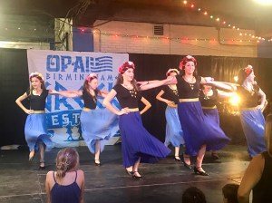 Enjoy Greek music, dancing, and a warm-spirited atmosphere that embraces everyone as family. (contributed)