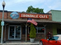 The Irondale Café, 2012. The restaurant was the inspiration for the Whistlestop Cafe in the book Fried Green Tomatoes. (Rivers Langley; Save Rivers, Wikipedia)