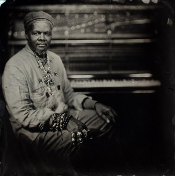 Lonnie Holley never expected to share his music with the world, but at 62 he began making records and has toured with artists such as Bon Iver. (Timothy Duffy/Jagjaguwar)