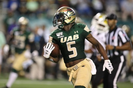 The UAB Blazers will play Old Dominion University at their homecoming celebration Saturday at Legion Field. (Jimmy Mitchell)