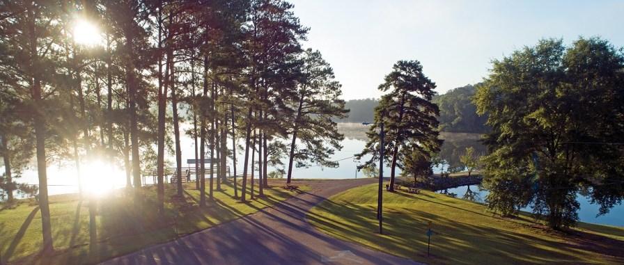 Ed Lisenby Lake is one of Ozark's treasures. (Jay Parker/Powergrams)