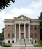 Courthouse located in the center of downtown Athens, 2010. (The George F. Landegger Collection of Alabama Photographs in Carol M. Highsmith's America, Library of Congress, Prints and Photographs Division)