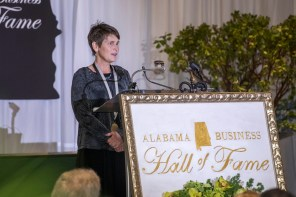 Sue Whitehead, daughter of inductee Lonnie S. McMillian. (ABHOF)