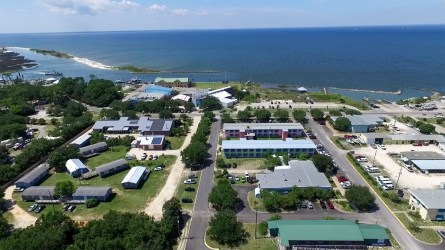 Dauphin Island Sea Lab sits on the east side of Dauphin Island near the mouth of Mobile Bay. (contributed)