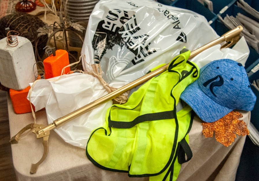 More than 220 volunteers participated in the Renew Our Rivers cleanup of Lake Martin during the first weekend in November. (contributed)