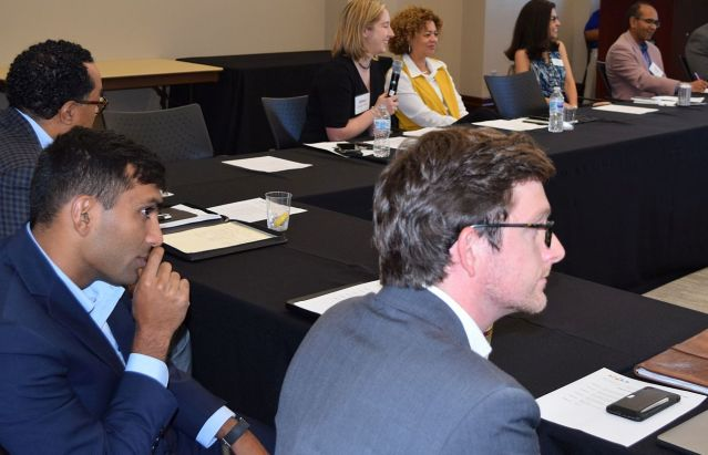 Philanthropic advisers listened intently to Alabama Power Foundation's messages. (Donna Cope / Alabama NewsCenter)
